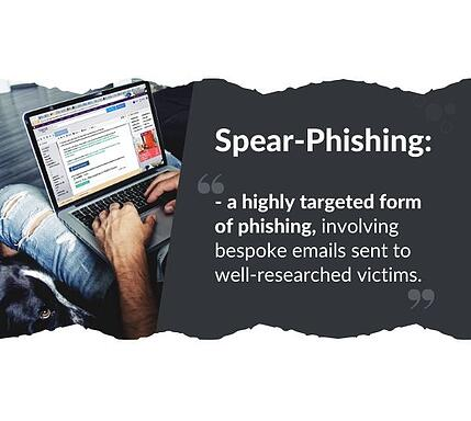 The definition of spear phishing
