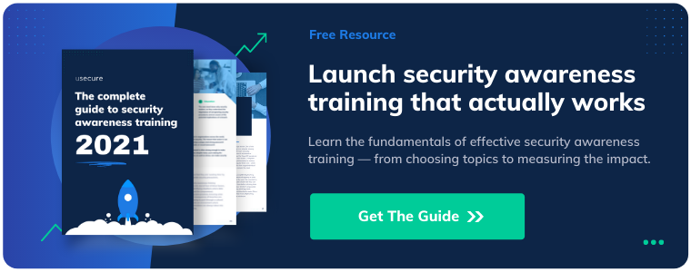 The usecure Guide to Security Awareness Training 2021